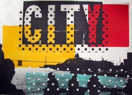 Litografia Soulie - City Lithographie De Tony Soulie