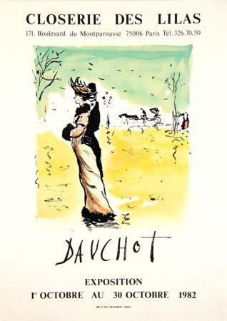 Litografia Dauchot - Closerie des Lilas