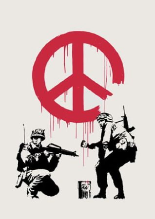 Serigrafia Banksy - CND
