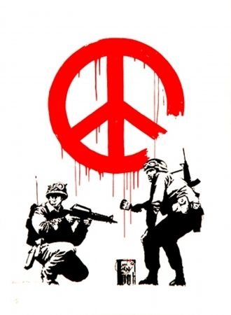 Serigrafia Banksy - CND Soldiers