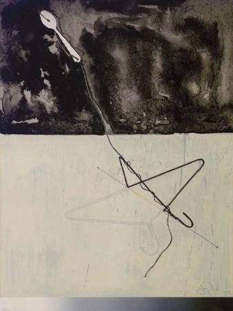 Litografia Johns - Coat Hanger and Spoon