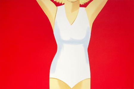 Serigrafia Katz - Coca-Cola Girl #2