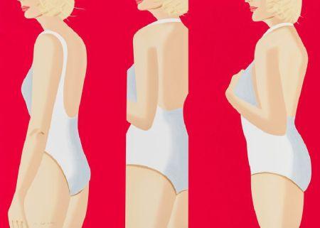 Serigrafia Katz - Coca-Cola Girl #5
