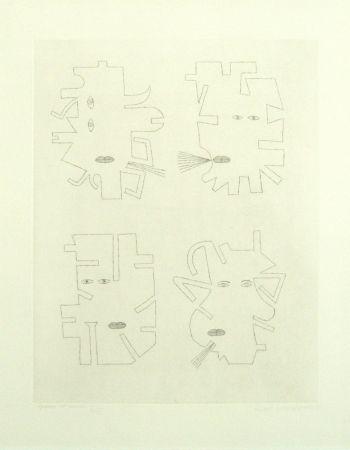 Incisione Brauner - Codex d'un visage