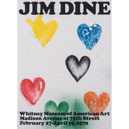 Manifesti Dine - Coeurs pour le Whitney