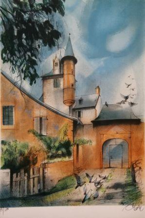 Litografia Valadie - Collonges la Rouge - Limousin