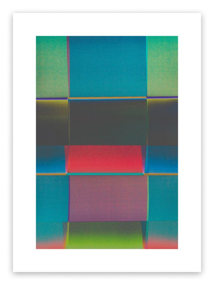 Fotografie De Haan - Color Field 2