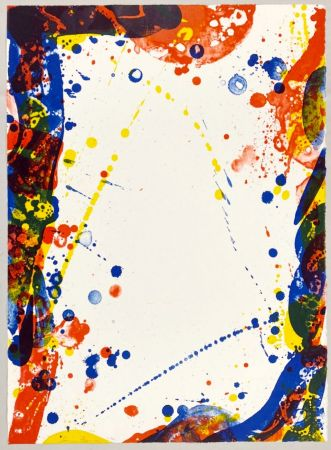 Litografia Francis - Colors in Space II