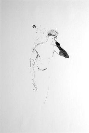 Litografia Toulouse-Lautrec - Columbine À Pierrot