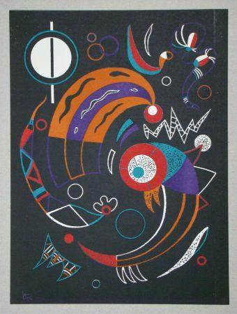 Litografia Kandinsky - Comètes