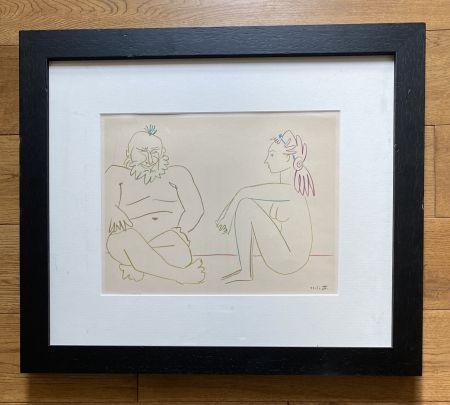 Non Tecnico Picasso - Comédie Humaine 27/1/54.XIV