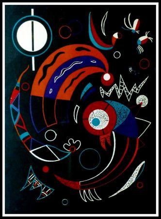 Litografia Kandinsky - COMETES