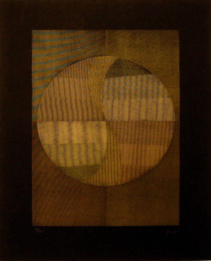 Serigrafia Sempere - Composición 1