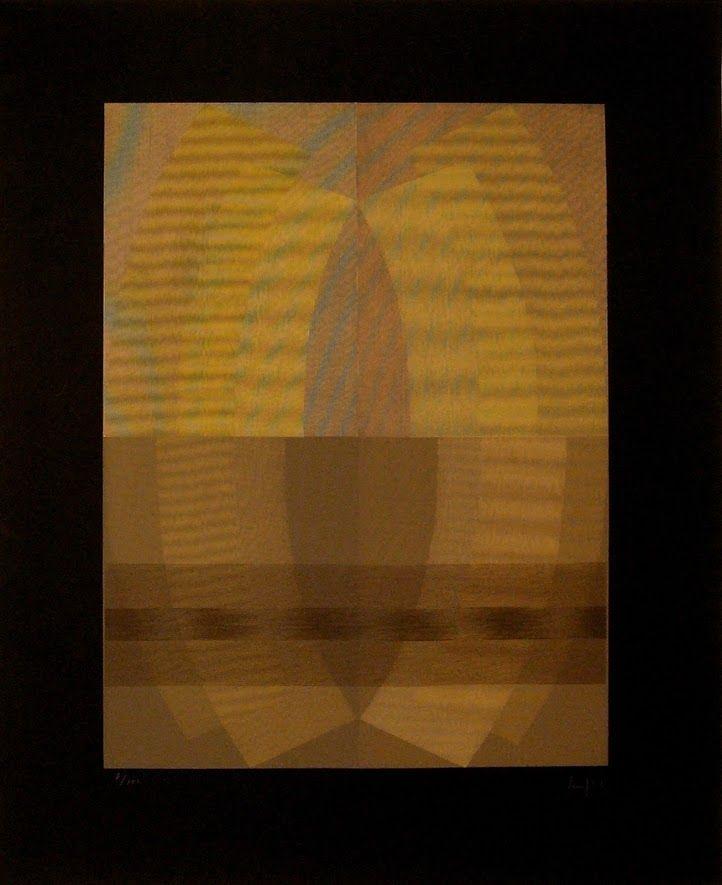 Serigrafia Sempere - Composición 5