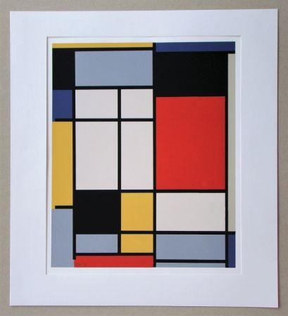 Serigrafia Mondrian - Compositie - 1921