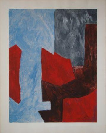 Litografia Poliakoff - Composition