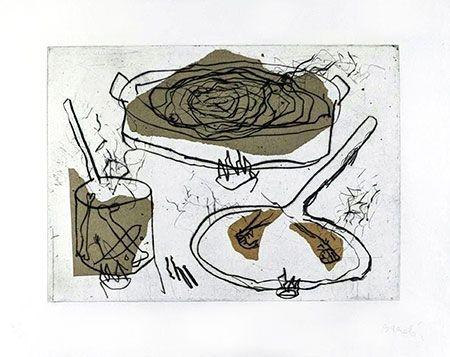 Incisione Barcelo - Composition