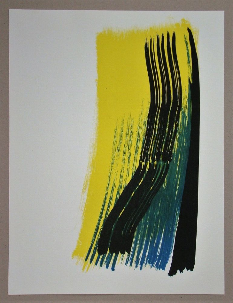 Litografia Hartung - Composition
