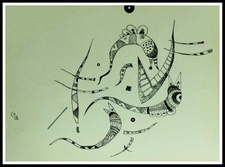 Litografia Kandinsky - COMPOSITION