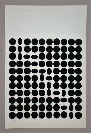 Serigrafia Vasarely - Composition