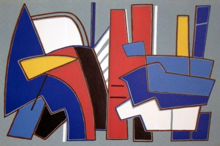Litografia Magnelli - '' Composition ''