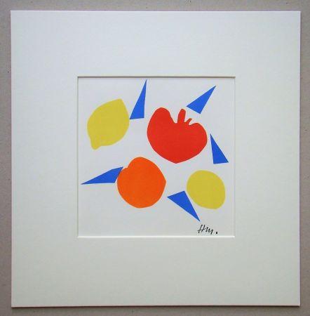 Litografia Matisse (After) - Composition