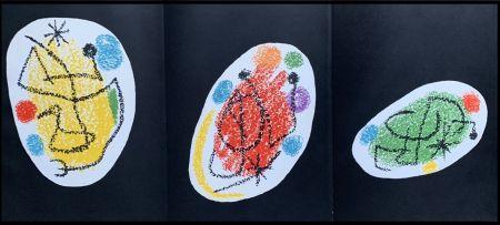 Litografia Miró - Composition