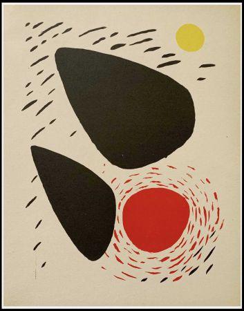 Litografia Calder - COMPOSITION