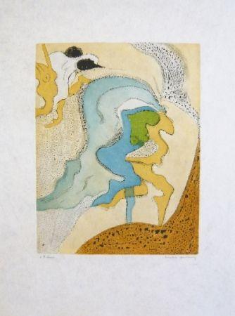 Acquaforte E Acquatinta Tanning - Composition