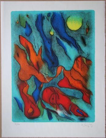 Litografia Singier - Composition