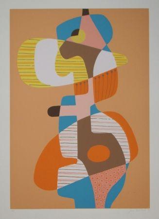 Litografia Mitchell - Composition