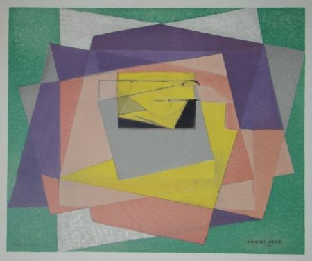 Litografia Villon - Composition