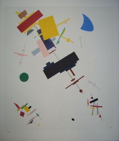Litografia Malevitch - Composition