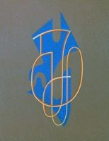 Litografia Domela - Composition