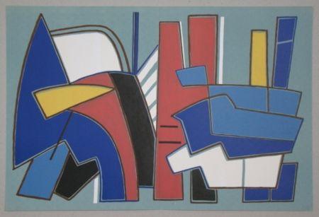 Litografia Magnelli - Composition