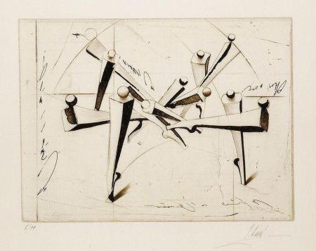 Incisione Kahn - Composition