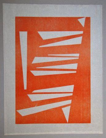 Incisione Su Legno Gessner - Composition