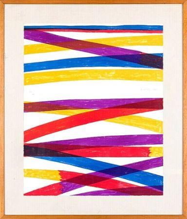 Litografia Dorazio - Composition