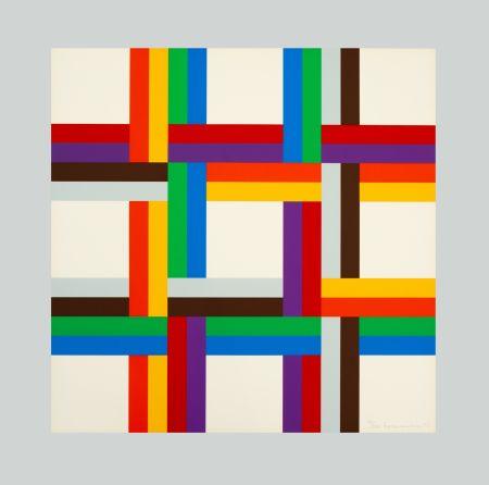 Serigrafia Loewensberg - Composition