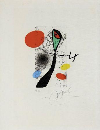 Incisione Miró - Composition