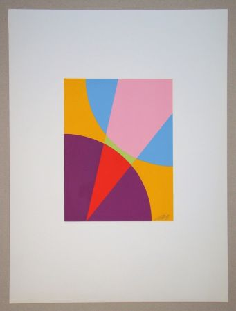 Serigrafia Béöthy Steiner - Composition