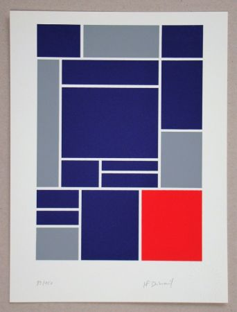 Serigrafia Dubreuil - Composition
