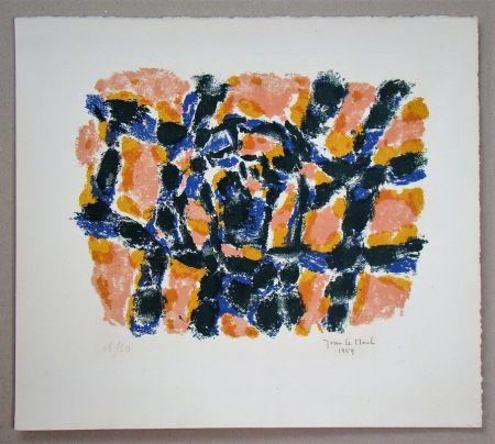 Litografia Le Moal - Composition - 1959