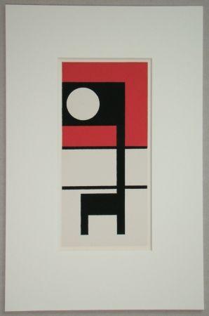 Serigrafia Carlsund - Composition - L'Art Concret