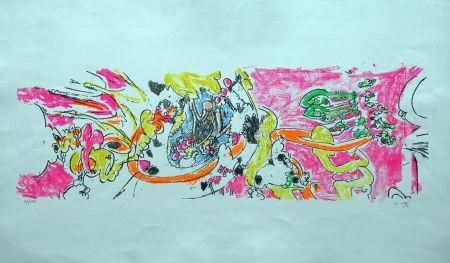 Litografia Matta - Composition 1