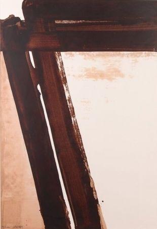 Serigrafia Soulages - Composition 15