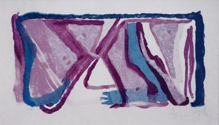 Litografia Van Velde - Composition 170
