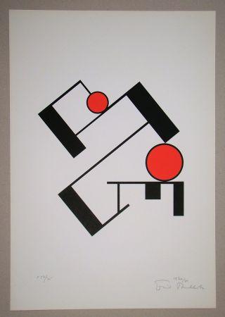Serigrafia Buchholz - Composition, 1920