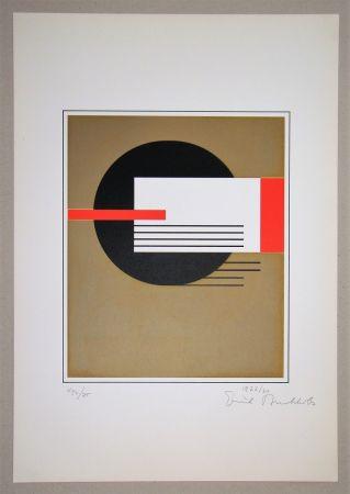 Serigrafia Buchholz - Composition, 1922
