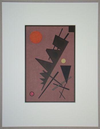 Litografia Kandinsky - Composition, 1924